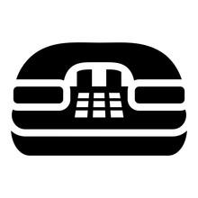 Editable Flat Vector Of Landline, Telecommunication