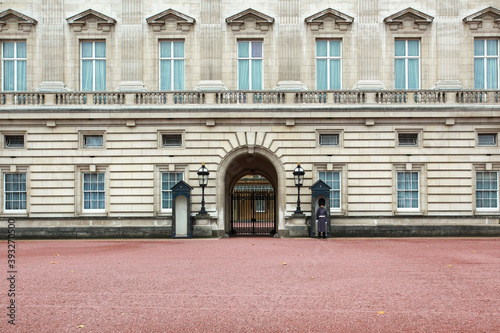 Canvas Print View of Buckingham Palace in London