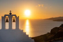 Sunset View Across Santorini C...