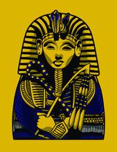 Egyptian Pharaoh Sacrophagus