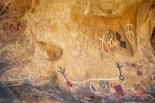 Petroglyphs Along The Barker D...