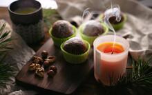 Rum Balls With Powdered Sugar ...