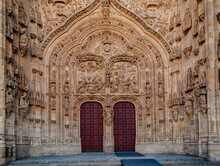 Main Facade Of The New Cathedr...