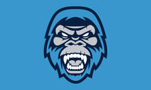 Yeti Sports Vector Mascot Logo Design