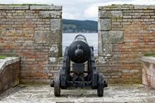 War Cannon At Barracks Complex...