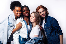 Diverse Multi Nation Girls Gro...