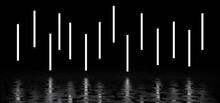 Luminous Vertical Stripes Of W...