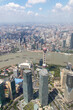 Panorama urbain de Shanghai, Chine
