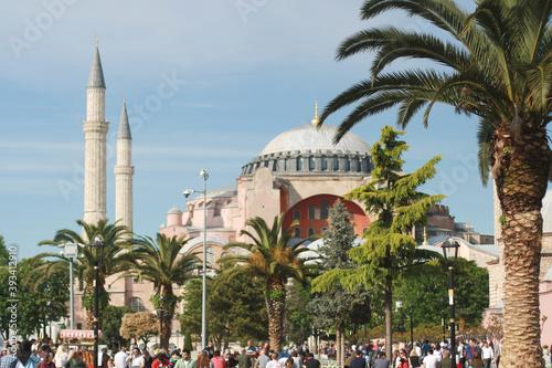 hagia sophia mosque Fototapet