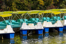 Pedal Boats With Sun Shelter I...
