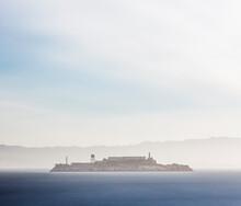 Alcatraz Island During Morning...