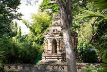 Chedi, A Temple Inside Wat Sam...