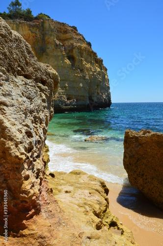 Obraz Piękna plaża w portugalii (Algarve) - fototapety do salonu