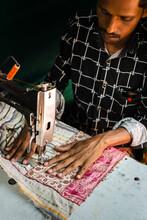 Ethnic Craftsman Sewing Bag In...