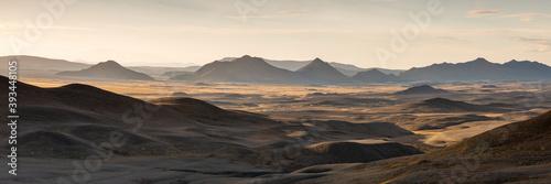 High country desert plains of Iceland
