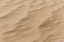 Textured Sand In Desert