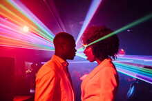 Couple Dancing In Nightclub