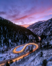 Winding Road In Cottonwood Can...
