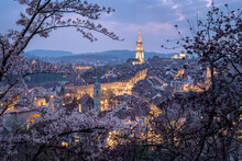 The Old Town Of Bern Switzerland In Spring