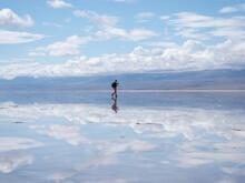 Reflection Of Man Taking Pictu...
