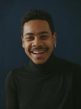Portrait Young Black Guy