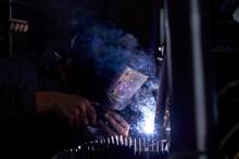 Anonymous Mechanic Welding Par...