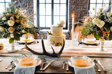 Wedding Table With Nice Flowers