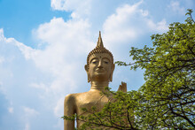 Standing Buddha Image, The Priceless Monk Of Roi Et Province