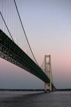 Suspension Bridge Over River A...