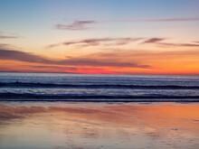 Atardecer Sobre La Playa Del P...