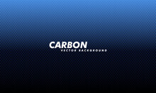 Carboon Background With Hexagons. Modern Illustration. Navy Blue Honeycomb Texture Steel Backdrop.