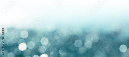 Obraz Abstract blue color blur smoke blinking background. Soft focus. - fototapety do salonu