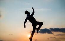 To Be Free. Free Man Dancing. ...