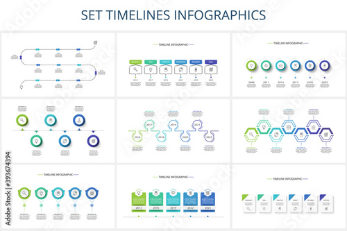 Fotografía Creative concept for infographic with steps, options, parts or processes