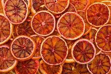 Close Up Dried Red Orange Chip...