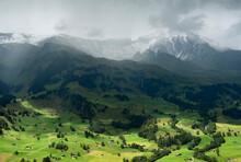 View Of Village Of Grindelwald...