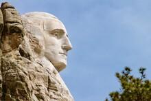 Profile, Mount Rushmore,  South Dakota, USA