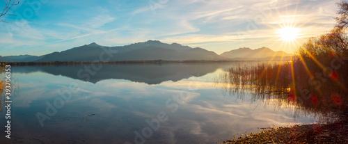 Fotografia Herbst auf der Herreninsel am Chiemsee