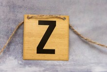 Close-up Of Letter Z On Table