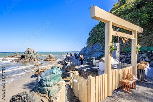 Papel de parede 二見興玉神社 三重県伊勢市 Hutamiokitama Shrine Mie-ken Ise city