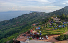 Phu Thap Boek Is A 1,768 M High Mountain In Phetchabun Province, Thailand Near The Border With Loei Province. It Is In The Lom Kao District.