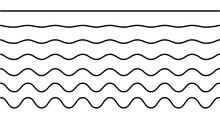 Linie – Wellenlinie