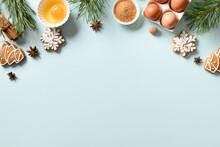 Christmas Cookies With Ingredi...