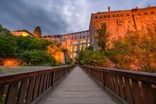 The State Castle And Cesky Kru...