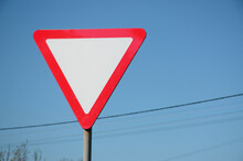 Traffic Sign In The Form Of A ...