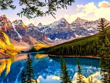 Beautiful Shot Of Banff Nation...
