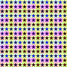 Textured Seamless Abstract Astronira's Textured Pattern With A Multicolored Five-pointed Stars In The Op Art Stylepattern