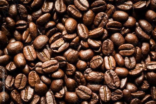 Foto coffee beans background