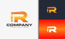 Initial R Crane Logo