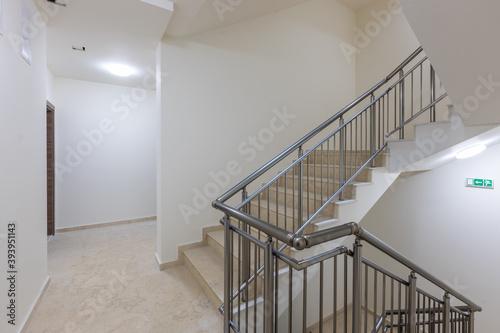 Tela Modern stair case between floors